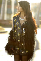 sequin stars The Caravan dress - Alexander Wang boots