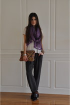 scarf - VPL boots - pants