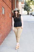 Jcrew hat - DSW shoes - Jcrew pants - Target top
