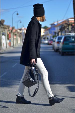 Urban Outfitters boots - Zara coat - Zara bag