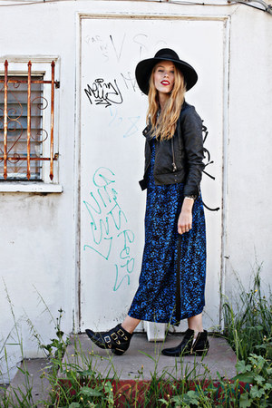 blue kaftan vintage intimate - black Vince Camuto boots