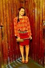 Thrifted-purse-thrifted-belt-forever-21-skirt-vintage-blouse
