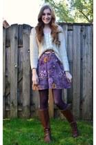 H&M dress - H&M sweater - Target tights