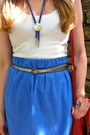 White-worn-as-a-top-thrifted-dress-blue-diy-skirt