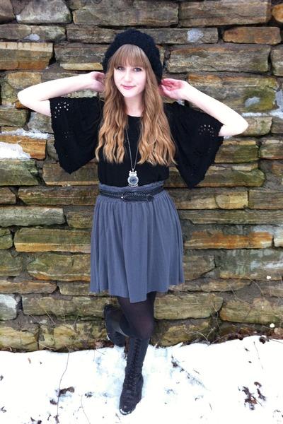 vera moda top - DIY skirt