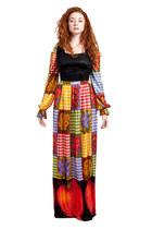 maxi vintage dress