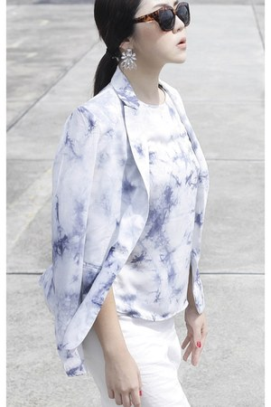 THESCARLETROOM x WARDROBEFLUX blouse