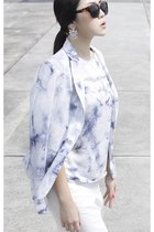 THESCARLETROOM x WARDROBEFLUX blouse