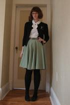 thrifted cardigan