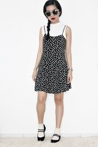 black black H&M shoes - black summer Forever 21 dress