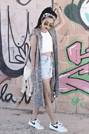 knitted Forever 21 cardigan