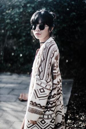 kimono sammydress cardigan - midi zaful dress
