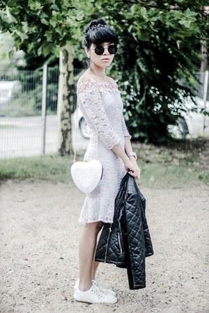 zaful bag - VIPshop dress - zaful sunglasses