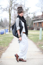 Target boots - Target dress - Gap sweater - Express bag - vintage accessories