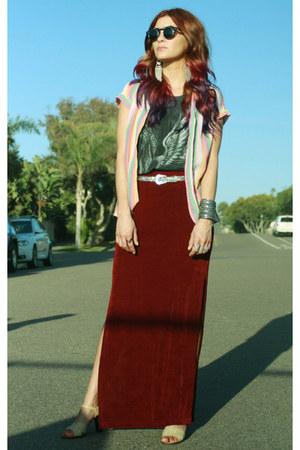 vintage blouse - vintage blouse - vintage blouse - pegasus CRASH & BURN top