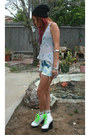 Periwinkle-sheer-floral-traded-dress-white-sheer-floral-traded-dress