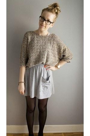 reversible American Apparel sweater - polka dot American Apparel top