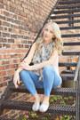 Silver-dorsay-flats-mia-shoes-blue-jegging-jean-gap-jeans