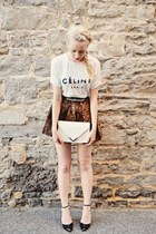 white céline t-shirt Ebay shirt - black Sole Society shoes
