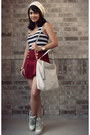 Off-white-sneaker-wedges-charlotte-russe-shoes-ivory-michael-kors-purse