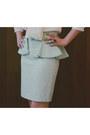 Pencil-skirt-zara-skirt-sheer-asos-blouse-glossy-myhotshoes-heels