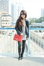 Black-leather-zara-jacket-black-zara-boots-red-rebecca-minkoff-bag