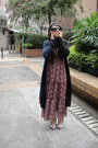 Maxi-dress-vintage-dress-katie-judith-cardigan