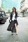 Black-theory-dress-black-ps11-proenza-schouler-bag