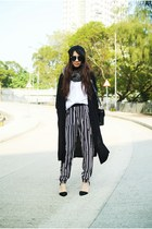 black H&M pants - black Monki cardigan
