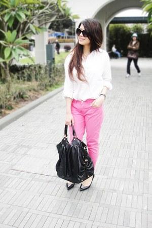 D&G watch - Zara pants
