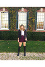 Leather-vince-camuto-boots-wool-urban-outfitters-blazer-dvf-bag