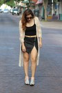 Light-pink-cut-out-shellys-london-boots-black-zipper-express-skirt