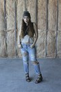 Black-cut-out-topshop-boots-light-blue-boyfriend-gap-jeans