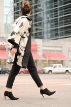 black rag & bone pants - black Zara cape