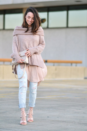 Light Pink Sweater - How to Wear and Where to Buy | Chictopia