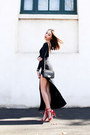 Black-maxi-asos-dress-black-leather-chanel-bag-red-lace-up-jo-mercer-heels