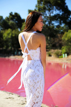 white lace Lover dress
