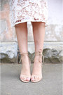 White-lace-cooper-st-dress-nude-lace-up-windsor-smith-heels