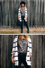 Black-wrangler-jeans-white-wrangler-cardigan-brown-vintage-blouse-brown-ba