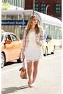 White-white-dress-temperance-collection-dress-light-pink-blazer-rw-co-blazer