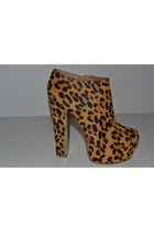 New designer  - Zigi Girl - Jordan Leopard shoes platforms