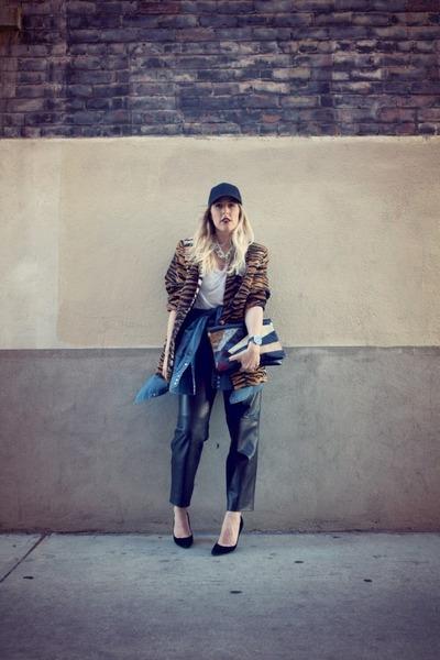 timex watch - thrifted hat - thrifted pants - Steven via Crossroads heels