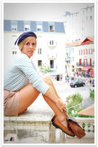 blue quiksilver womens shirt - brown vintage shorts