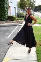vintage dress - Steve Madden shoes - flea market necklace
