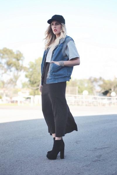 black Dolce Vita boots - silver Crossroads Find sweatshirt