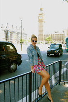 Floral Skirts and Big Ben