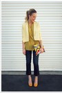 Navy-qsw-jeans-light-yellow-sparkle-fade-via-crossroads-blazer-yellow-pink