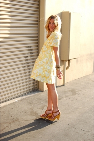 vintage dress - Steve Madden shoes
