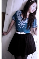 top - H&M skirt - H&M belt
