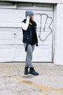 Black-leather-dr-martens-boots-black-leather-silence-noise-jacket